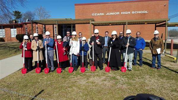 Junior High Groundbreaking