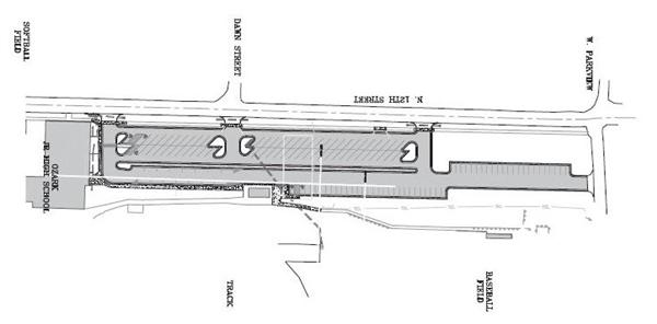 Construction of Junior High Parking Lot to Begin