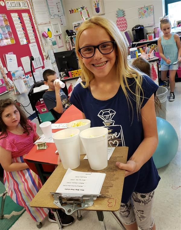 The Big Top Cafe: West 4th Graders Turn Geography Lesson into Fundraiser