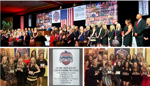 Missouri Sports Hall of Fame Inducts Ozark Cheer