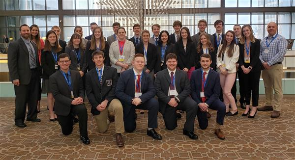 On March 24-26, 27 Ozark students competed at the DECA State Career Development Conference in Kansas City.