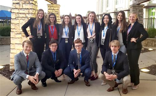 Ozark DECA Students Attend Fall Leadership Conference