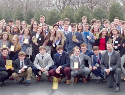 DECA State Bound, Sets New School Record