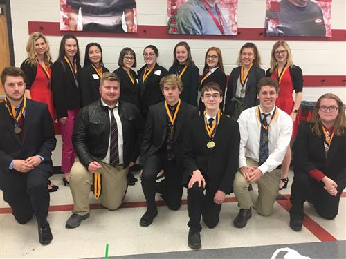 FBLA students competed Feb. 5.