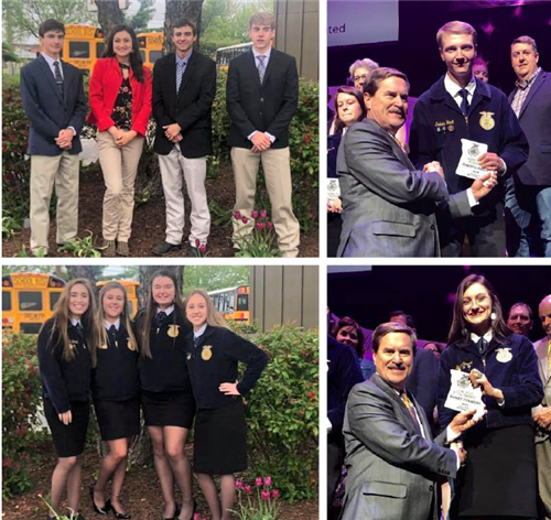 The 91st Missouri FFA Convention April 25-26 brought big success for the Ozark High School FFA Chapter,