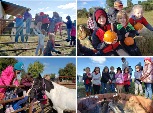 Ozark FFA Hosts Fall Fest for First Graders