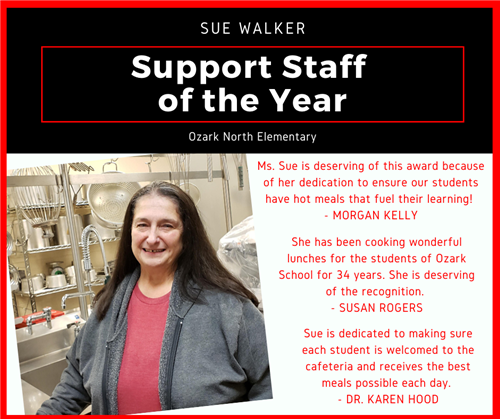 Support staff of the year graphic