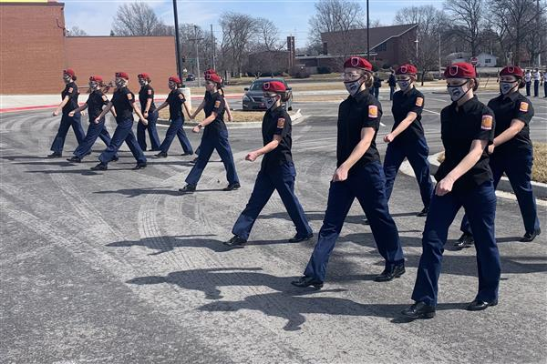 JROTC Rifle, Drill Teams Take 1st at Feb. 27 Competitions