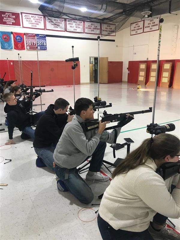 Ozark New Shooter League goes Undefeated for the Season