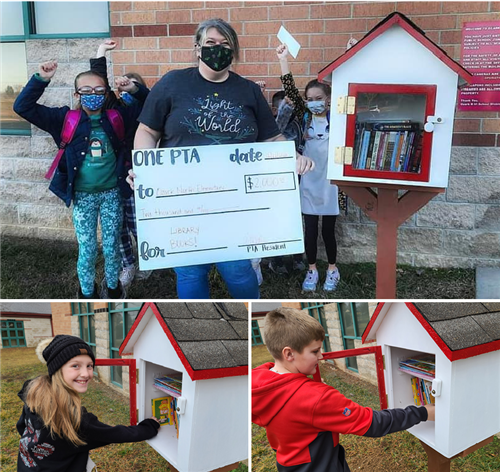 North Elementary Gets Little Free Library