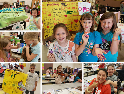 After learning about economics, North third graders opened their own stores.