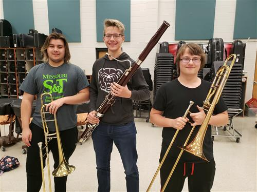 OHS Musicians Named to All-State Band