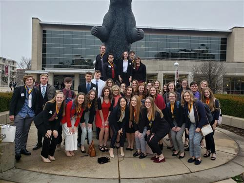 FBLA brings home 32 medals from District Leadership Conference