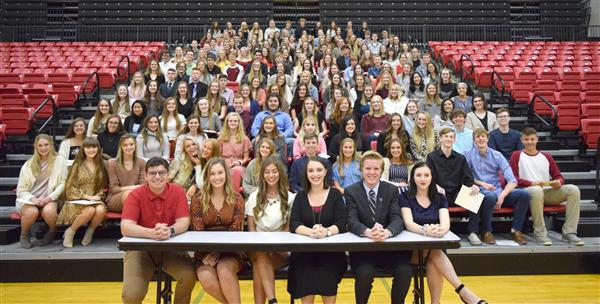 OHS Inducts 115 New Members Into NHS