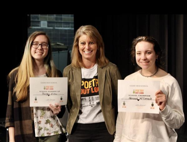 OHS Participates in Poetry Out Loud