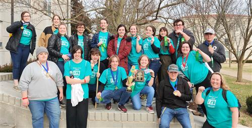 OHS Science Olympiad Team Takes 2nd at Regionals