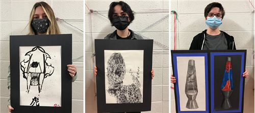 OJH Art Teacher, Students Featured at MSU Art Exhibition