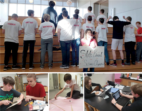 OJH Science Olympiad Team Ready for Competition Feb. 22