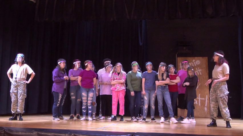 OJH Students Perform Play