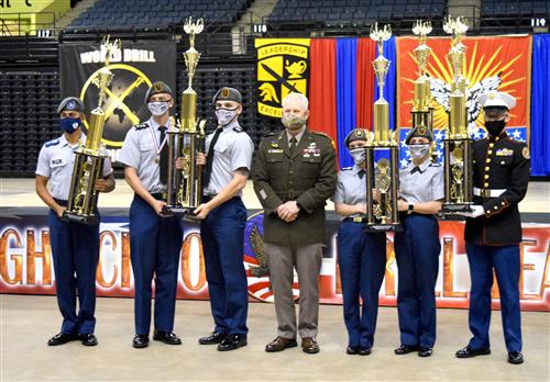 Ozark JROTC Drill Teams Named National Champs