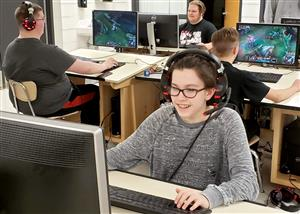 The Ozark Esports Club is open to students in eighth through 12th grade.