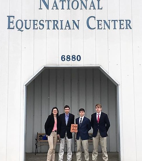 OHS horse judging team