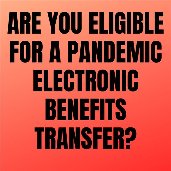 Pandemic Electronic Benefits Transfer graphic