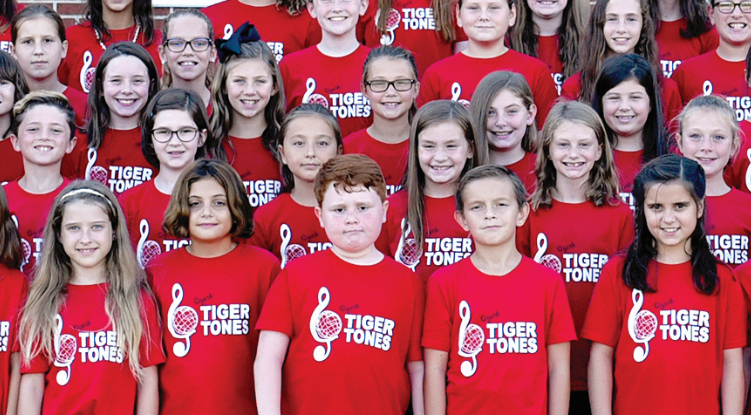 Tiger Tones: North, South Honor Choirs Combine to Perfect Harmony