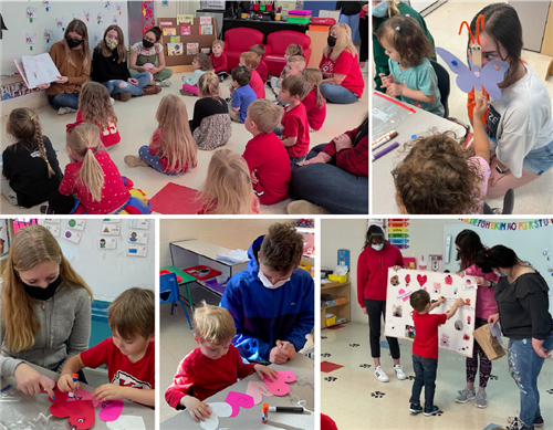 OHS Child Development Class Teams Up with Preschool