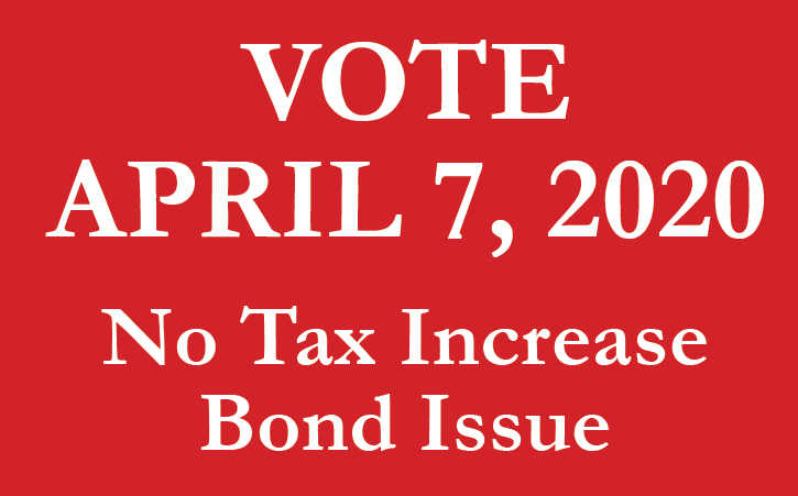 No tax increase bond issue graphic
