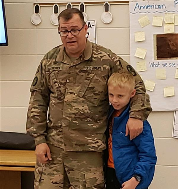 Dad Surprises 3rd Grade Son After 18-Month Deployment