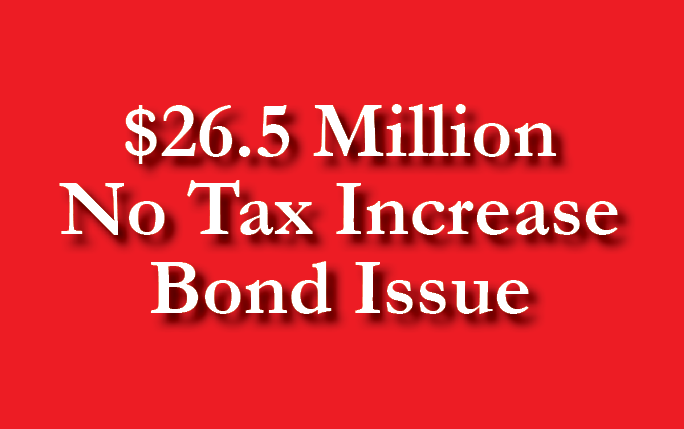 District Adds No Tax Increase Bond Issue on Ballot