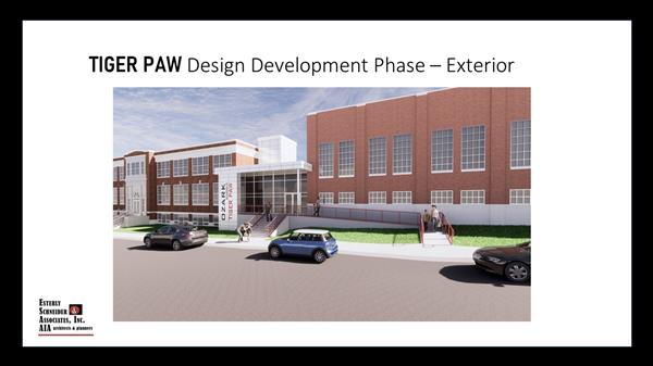 Initial Tiger Paw Early Childhood Center Renderings